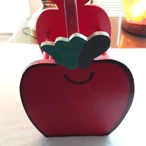 Wooden apple basket